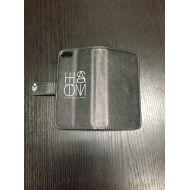 HISATOMI / 手帳型 iPhone5ケース 黒