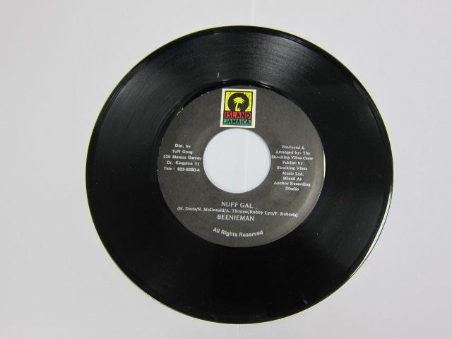 BEENIE MAN / NUFF GAL / ISLAND RECORD