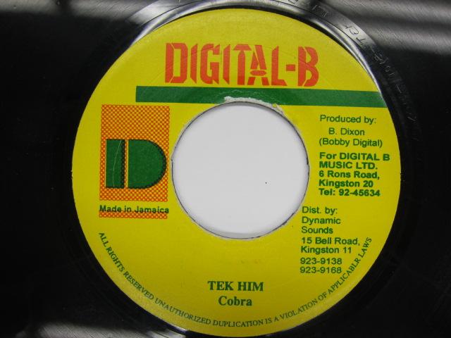 MAD COBRA / TEK HIM / DIGITAL B