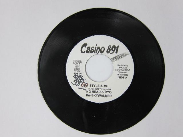 NG HEAD & RYO THE SKYWALKER / STYLE & MC / CASINO 891