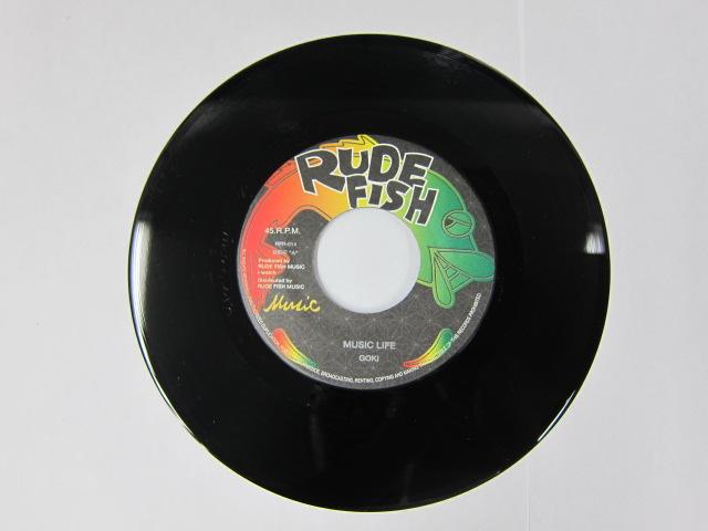 Aside GOKI / MUSIC LIFE Bside GOKI / かさぶた