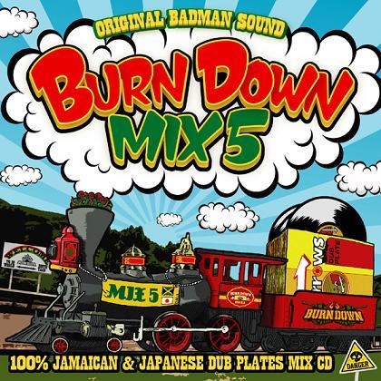 BURN DOWN / BURN DOWN MIX 5 -100% JAMAICAN & JAPANESE DUB PLATES MIX-