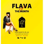 NEW KID'N PLAY【DJ GEORGE & MC MOGGYY】 / FLAVA OF THE MONTH Vol,12