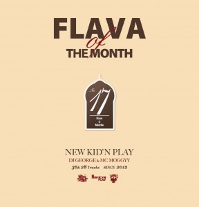 NEW KID'N PLAY【DJ GEORGE & MC MOGGYY】 / FLAVA OF THE MONTH VOL.17