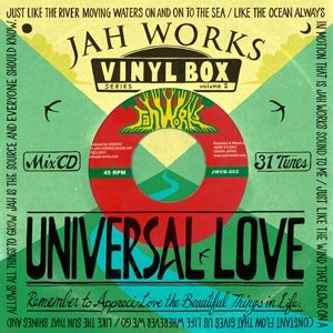 JAH WORKS / JAH WORKS VINYL BOX Vol.2 -UNIVERSAL LOVE-