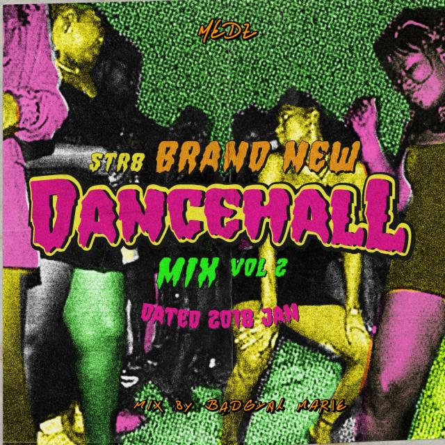 MEDZ / STR8 BRAND NEW DANCEHALL MIX Vol.2 -Dated JAN 2018- mixed by BAD GYAL MARIE from MEDZ