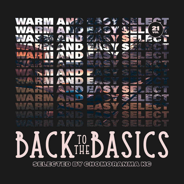 CHOMORANMA SOUND / BACK TO THE BASICS Vol.21 -WARM AND EASY SELECTION-