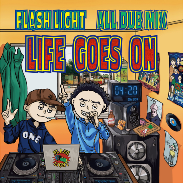 FLASH LIGHT SOUND / FLASH LIGHT ALL DUB MIX LIFE GOES ON