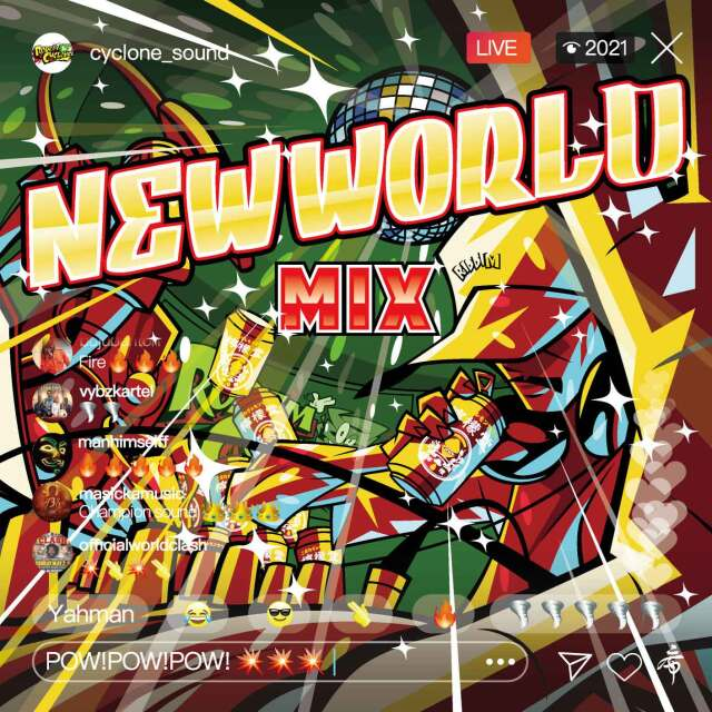 RODEM CYCLONE / NEW WORLD MIX
