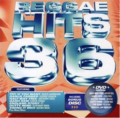 V.A. / REGGAE HITS 36 (CD+DVD)