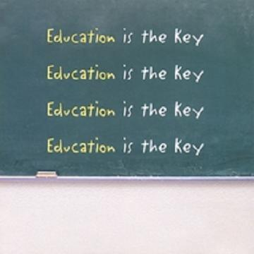 V.A. / EDUCATION IS THE KEY