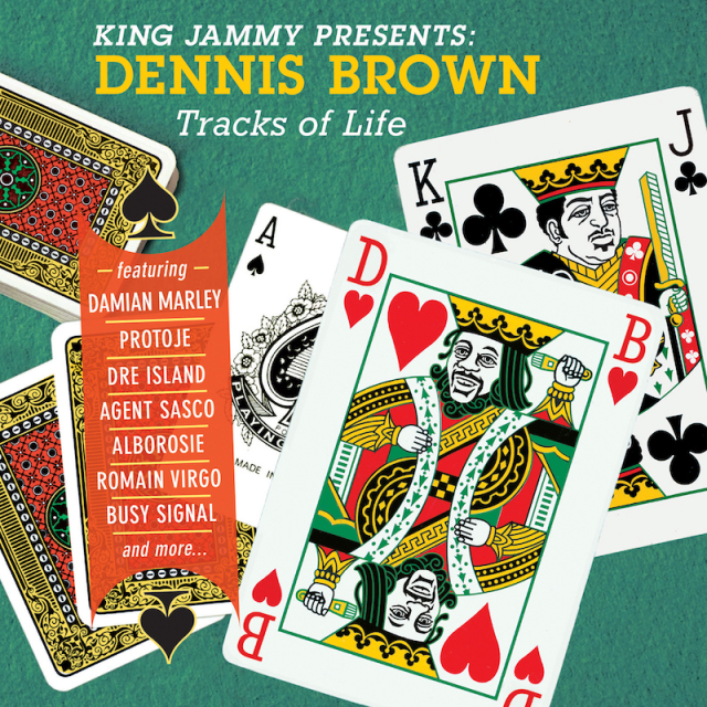 V.A. / KING JAMMY presents DENNIS BROWN Tracks of Life