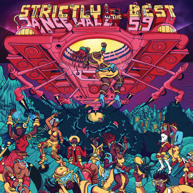 V.A. / STRICTLY THE BEST vol.59 -DANCEHALL EDITION-