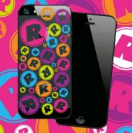 """R""LOGO(PASTEL DOT)iPhone(5/5s)ケース"