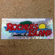 ROCKERS ISLANDロゴキラキラステッカー