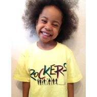 ROCKERS KIDS Tシャツ YELLOW