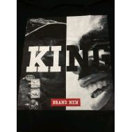 Description Tシャツ KING 黒(XL)