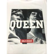 Description Tシャツ QUEEN 白(L)