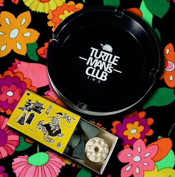 TURTLE MAN'S CLUB / 灰皿 & マッチ箱入り お香セット ※超特典CD「ジャパニーズレガエ3」 & ステッカー付き