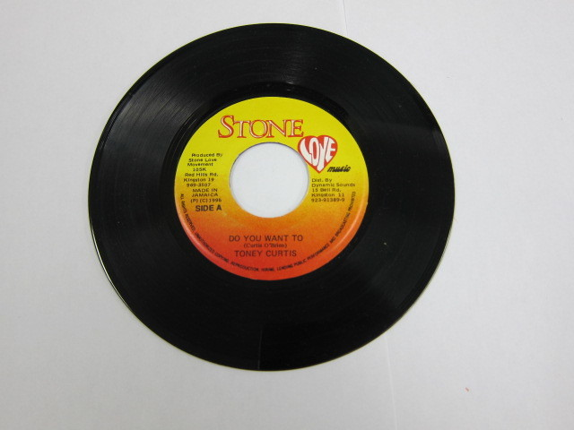 TONY CURTIS / DO YOU WANT TO / STONE LOVE