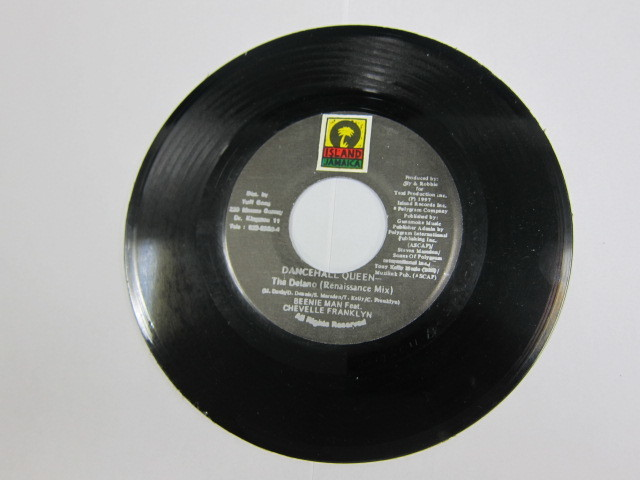 BEENIE MAN & CHEVELLE FRANKLYN / DANCEHALL QUEEN / ISLAND RECORD