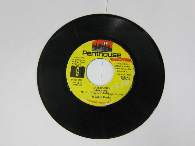 M.GRIFFITHS,T.REBEL,BUJU B,CUTTY RANKS / DISCOVERY / PENTHOUSE