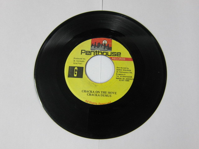 CHAKA DEMUS / CHAKA ON THE MOVE / PENTHOUSE