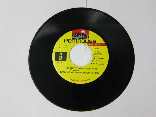 TONY REBEL & MARCIA GRIFFITHS / READY TO GO / LAND OF LOVE RIDDIM / PENTHOUSE