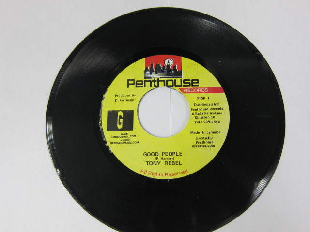 TONY REBEL / GOOD PEOPLE / FREEDOM BLUES RIDDIM / PENTHOUSE