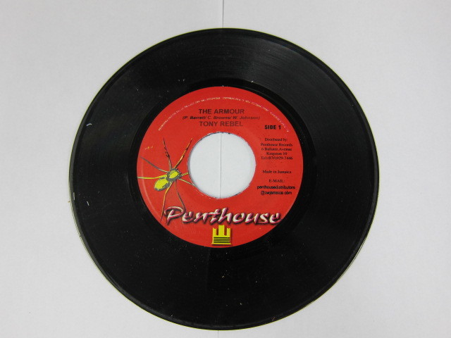 TONY REBEL / THE ARMOUR / MUD UP<PENTHOUSE> RIDDIM / PENTHOUSE