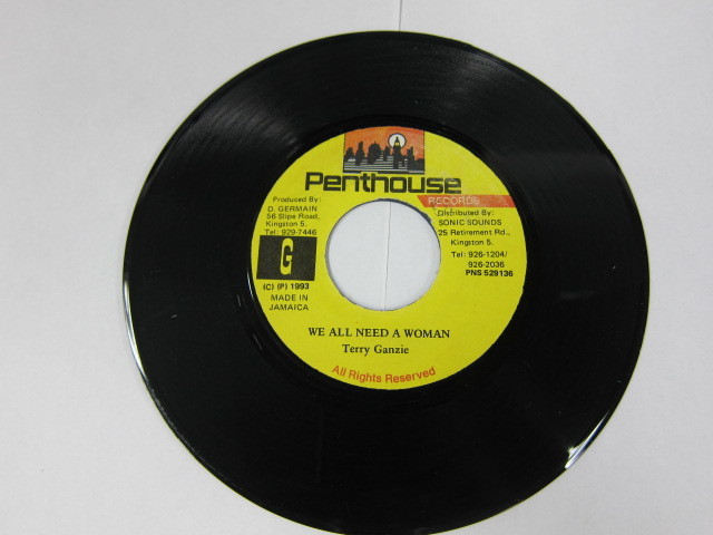 TERRY GANZIE / WE ALL NEED A WOMAN / OPERATION ARDENT RIDDIM / PENTHOUSE