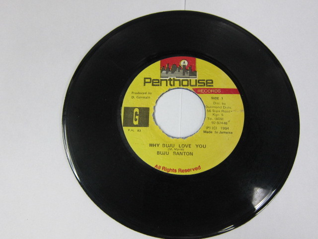 BUJU BANTON / WHY BUJU LOVE YOU / ROPE IN RIDDIM / PENTHOUSE
