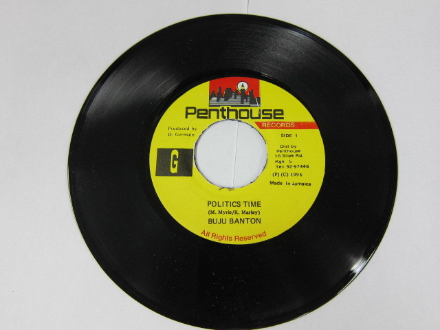BUJU BANTON / POLITICS TIME / PENTHOUSE