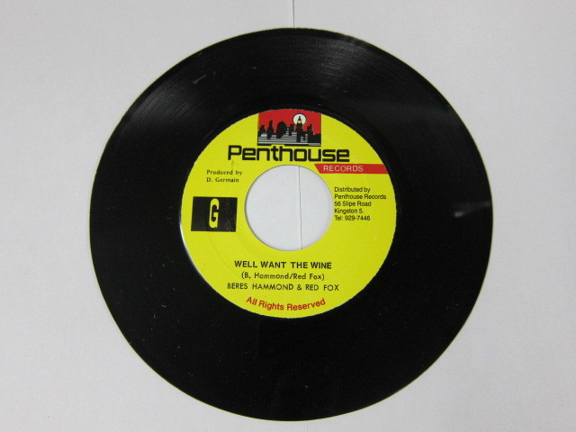 BERES HAMMOND & RED FOX / WELL WANT THE WINE / PENTHOUSE
