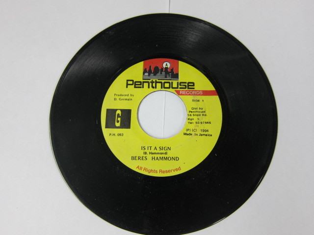 BERES HAMMOND / IS IT SIGN / PENTHOUSE