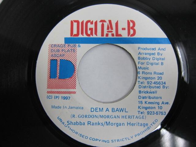 Shabba Ranks . Morgan Heritage / DEM A BAWL / DIGITAL-B