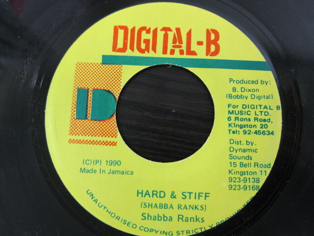 Shabba Ranks / HARD & STIFF / DIGITAL-B