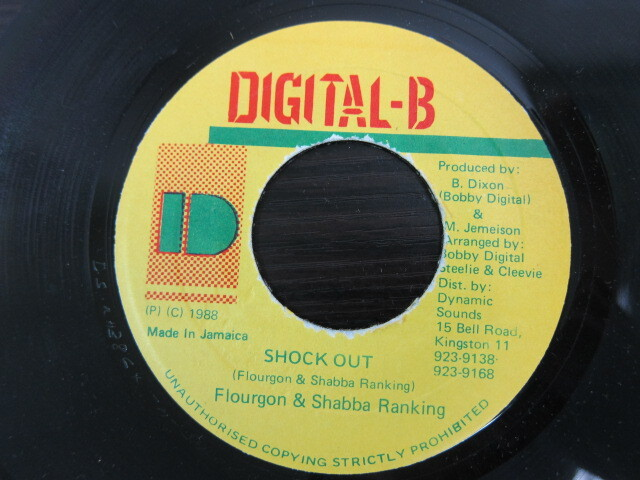 Flourgon & Shabba Ranking / SHOCK OUT / DIGITAL-B