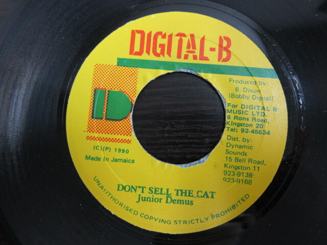 Junior Demus / DON'T SELL THE CAT / DIGITAL-B