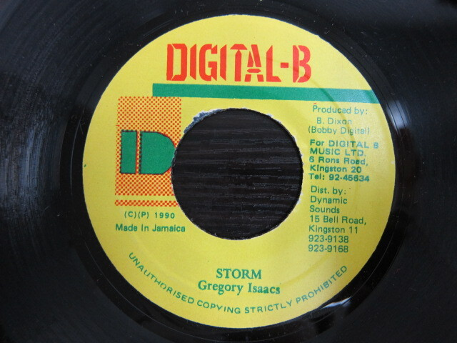 Gregory Isaacs / STORM / DIGITAL-B