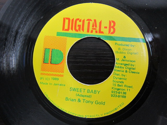 Brian & Tony Gold / SWEET BABY / DIGITAL-B