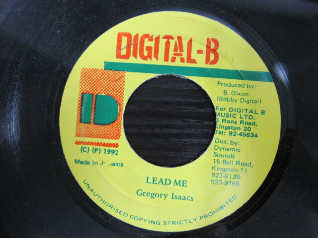 Gregory Isaacs / LEAD ME / DIGITAL-B