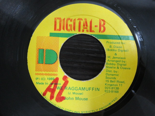 John Mouse / WE RAGGAMUFFIN / DIGITAL-B