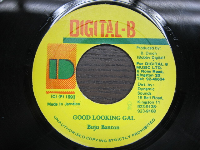 Buju Banton / GOOD LOOKING GAL / DIGITAL-B