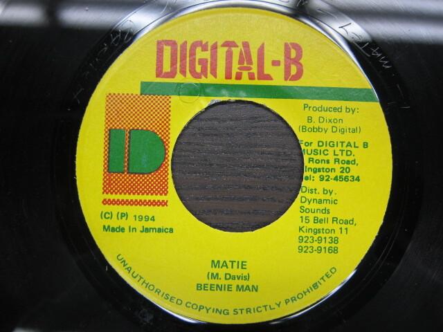 BEENIE MAN / MATIE / DIGITAL-B