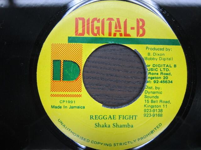 Shaka Shamba / REGGAE FIGHT / DIGITAL-B