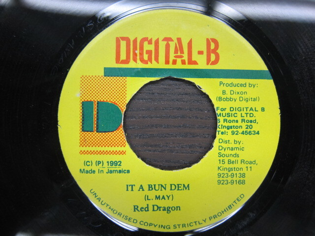 Red Dragon / IT A BUN DEM / DIGITAL-B