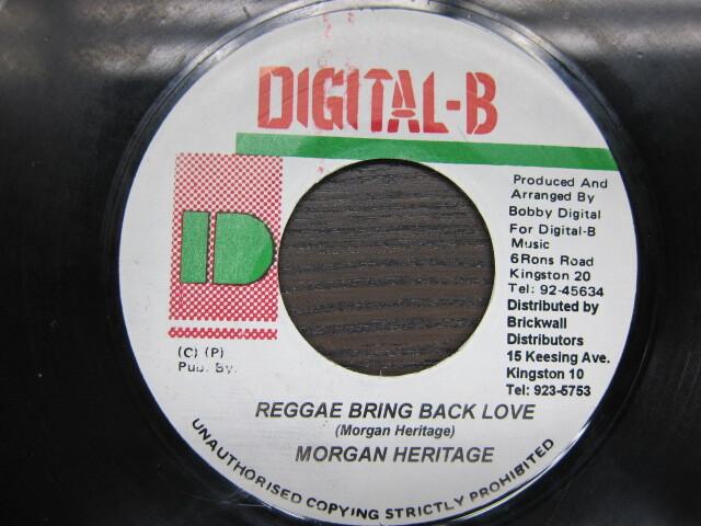 MORGAN HERITAGE / REGGAE BRING BACK LOVE / DIGITAL-B