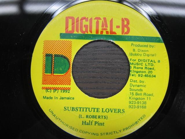 Half Pint / SUBSTITUTE LOVERS / DIGITAL-B