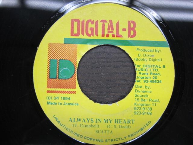 Scatta / Always In My Heart / DIGITAL-B